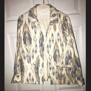 Chico's patterned blazer